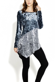 Adore Velvet Asymetrical Tunic - Product Mini Image