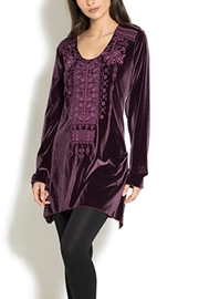 Adore Velvet Media Tunic - Product Mini Image