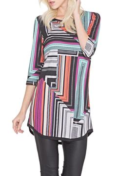 Shoptiques Product: Geometric Pattern Tunic