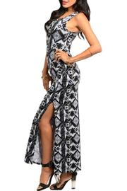 Adore Clothes & More Black Gray Dress - Product Mini Image
