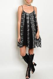 Adore Clothes & More Black Ivory Summer Dress - Product Mini Image
