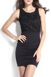 Adore Clothes & More Black Lace Dress - Product Mini Image