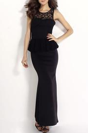 Adore Clothes & More Black Maxi Dress - Product Mini Image