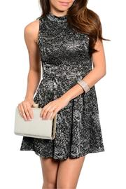 Adore Clothes & More Black Silver Dress - Product Mini Image