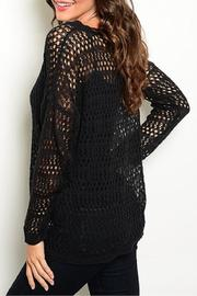 Adore Clothes & More Black Sweater - Front full body