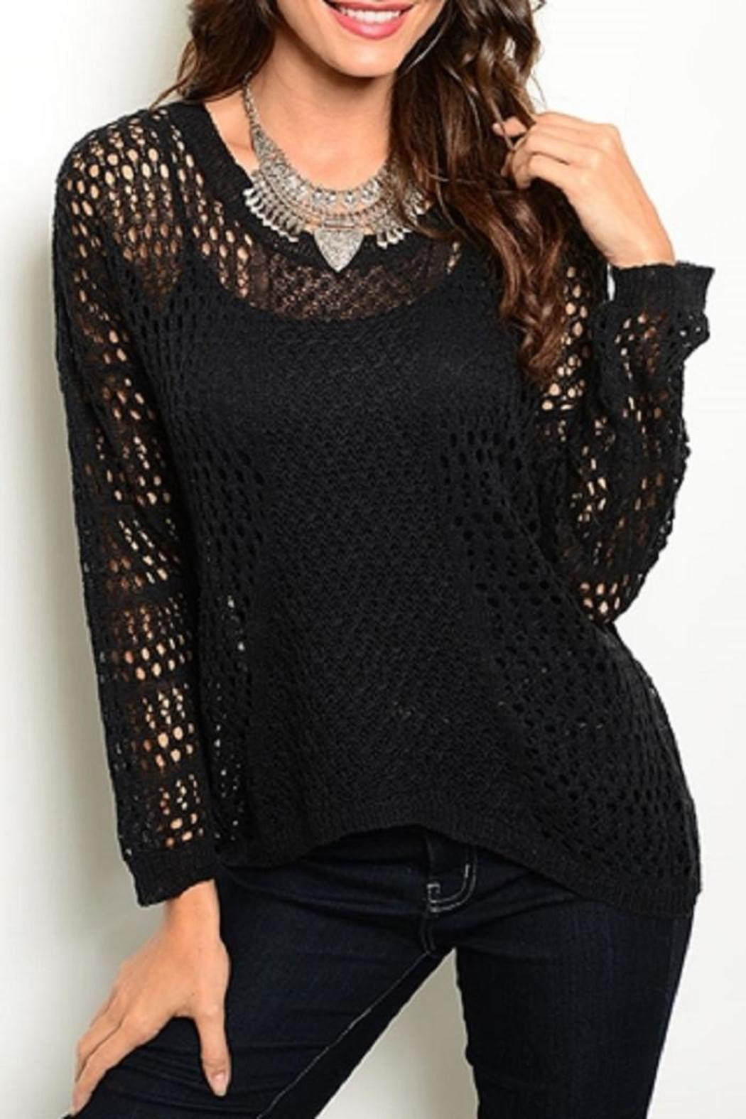 Adore Clothes & More Black Sweater - Main Image