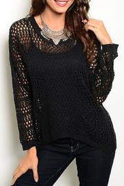 Adore Clothes & More Black Sweater - Product Mini Image