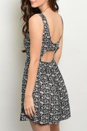 Adore Clothes & More Black Summer Dress - Front full body
