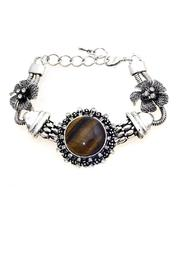 Adore Clothes & More Brown Stone Bracelet - Product Mini Image