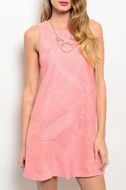 Adore Clothes & More Coral Summer Dress - Front cropped