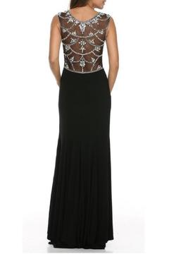 Adore Clothes & More Elegant Illusion Dress - Alternate List Image