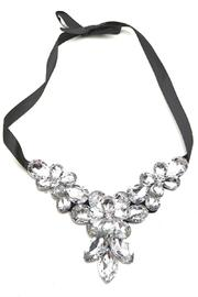 Adore Clothes & More Faceted Crystal Necklace - Product Mini Image