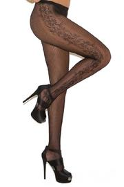 Adore Clothes & More Flower Side Tights - Product Mini Image