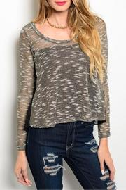 Adore Clothes & More Gold Black Sweater - Product Mini Image