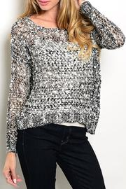 Adore Clothes & More Grey Sweater - Product Mini Image