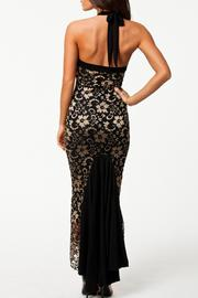 Adore Clothes & More Lace Long Dress - Back cropped