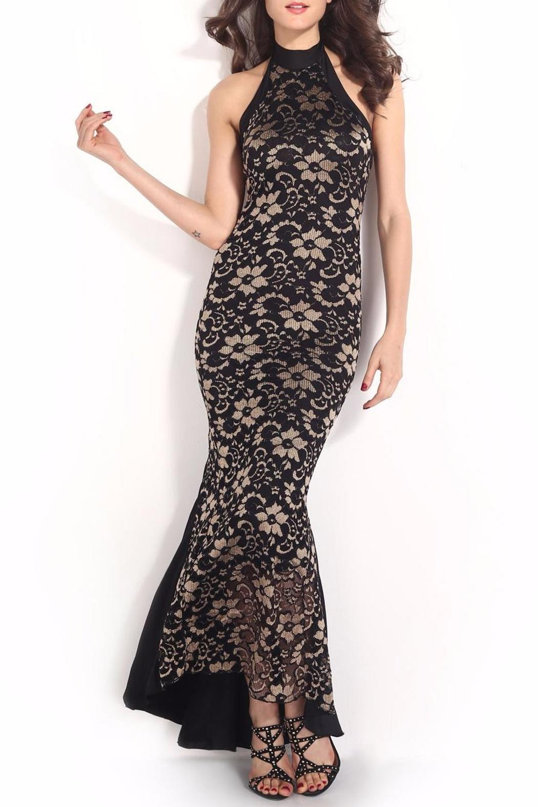 Adore Clothes & More Lace Long Dress - Main Image