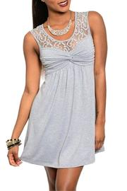 Adore Clothes & More Short Lace Dress - Product Mini Image