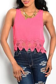 Adore Clothes & More Lace Tank Top - Product Mini Image