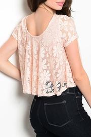 Adore Clothes & More Lined Lace Top - Front full body