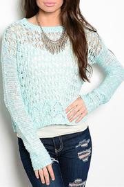 Adore Clothes & More Turquoise Sweater - Product Mini Image