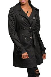 Adore Clothes & More Classic Black Trench - Product Mini Image