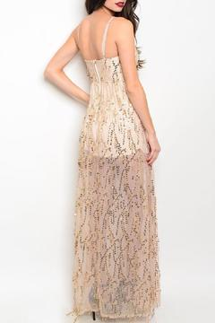 Adore Clothes & More Long Sequin Gown - Alternate List Image
