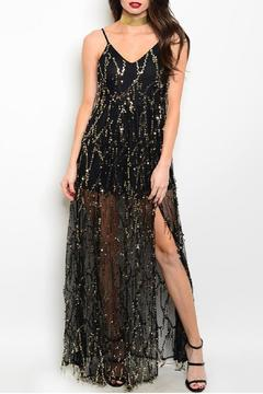 Shoptiques Product: Long Sequin Gown