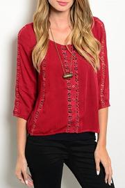 Adore Clothes & More Mid Sleeve Top - Product Mini Image