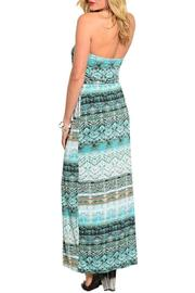 Adore Clothes & More Mint Brown Dress - Front full body