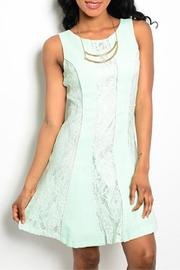 Adore Clothes & More Mint Lace Dress - Product Mini Image