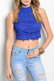 Adore Clothes & More Lace Crop Top - Product Mini Image