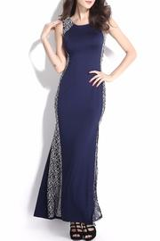 Adore Clothes & More Navy Long Dress - Product Mini Image