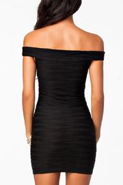 Adore Clothes & More Off Shoulder Dress - Front full body