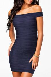 Adore Clothes & More Off Shoulder Dress - Front cropped