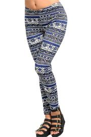 Adore Clothes & More Patterned Leggings - Product Mini Image