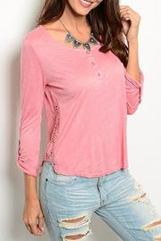 Adore Clothes & More Pink Top - Product Mini Image