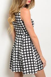 Adore Clothes & More Plaid Summer Dress - Front full body