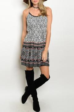 Adore Clothes & More Printed Summer Dress - Product List Image