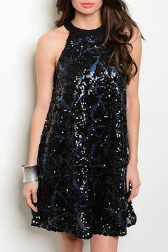 Adore Clothes & More Sequin Shift Dress - Product List Image