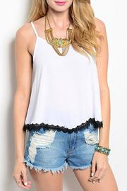 Adore Clothes & More Sheer Lace Top - Product Mini Image