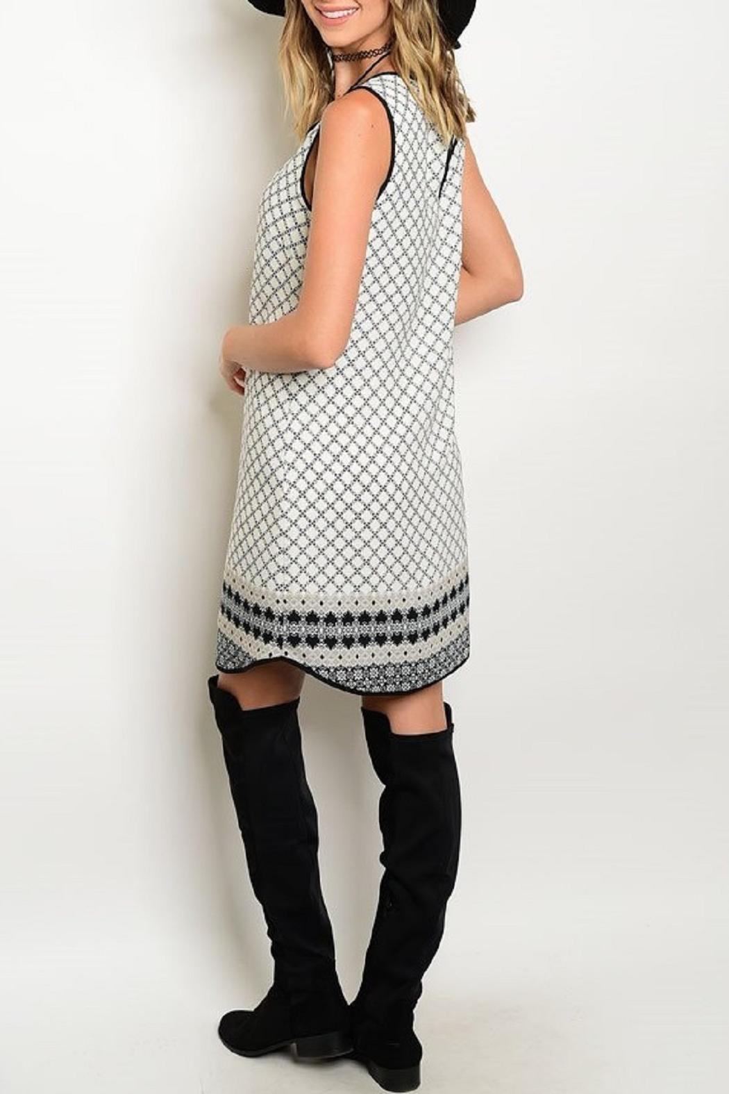 Adore Clothes & More Shift Tunic Dress - Front Full Image