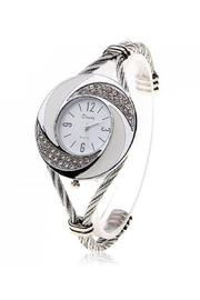 Adore Clothes & More Silver White Watch - Product Mini Image