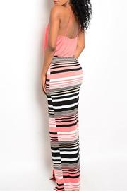 Adore Clothes & More Striped Maxi Dress - Front full body