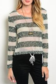 Adore Clothes & More Striped Sweater - Product Mini Image