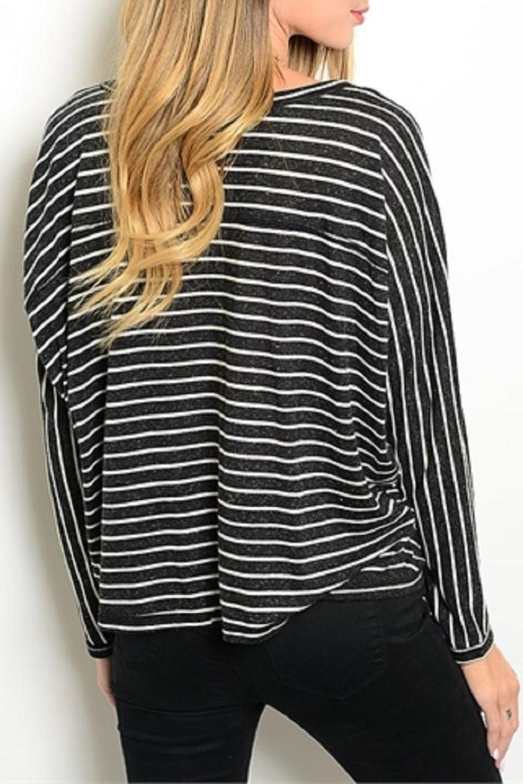 Adore Clothes & More Striped Top - Front Full Image