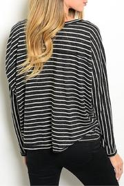Adore Clothes & More Striped Top - Front full body