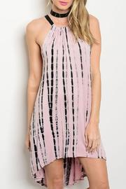 Adore Clothes & More Tie Dye Jersey Dress - Front cropped