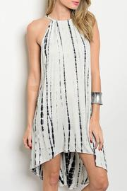Adore Clothes & More Tie/dye Jersey Dress - Product Mini Image