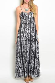 Adore Clothes & More Tribal Print Maxi Dress - Product Mini Image